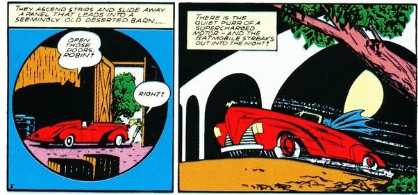 Detective Comics #48 - First Batmobile