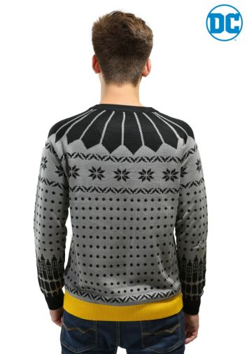 Fun Batman 80th Anniversary giveaway - Mens Sweater - 01