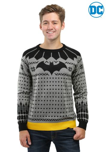 Fun Batman 80th Anniversary giveaway - Mens Sweater - 02