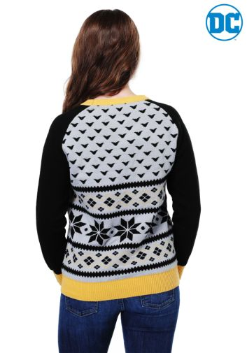 Fun Batman 80th Anniversary giveaway - Womans Sweater - 01