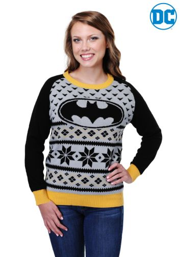Fun Batman 80th Anniversary giveaway - Womans Sweater - 02