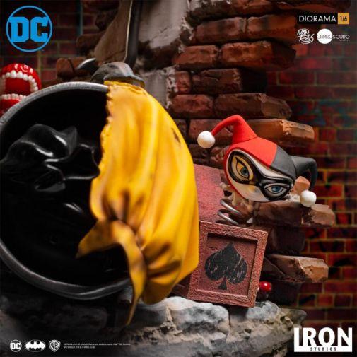 Iron Studios - Batman - Batman cs Joker Battle Diorama - 09