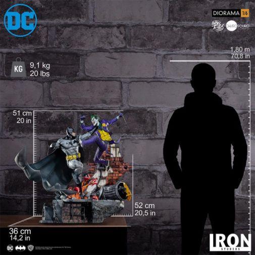 Iron Studios - Batman - Batman cs Joker Battle Diorama - 12