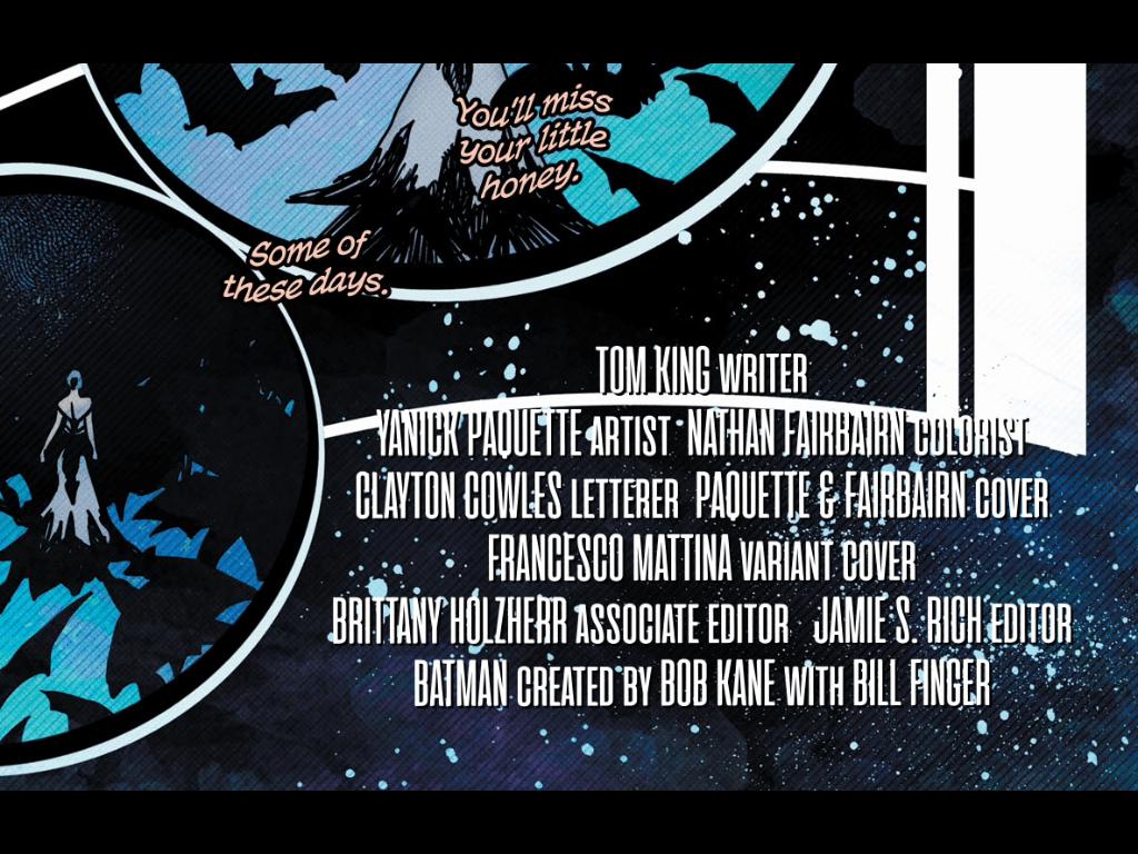 BATMAN #69 MATTINA VARIANT COVER 4 17 2019