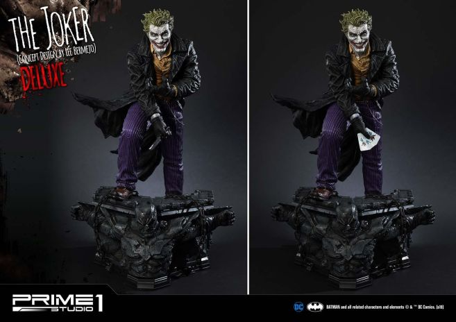 Prime 1 Studio - Batman - Joker by Lee Bermejo - 30