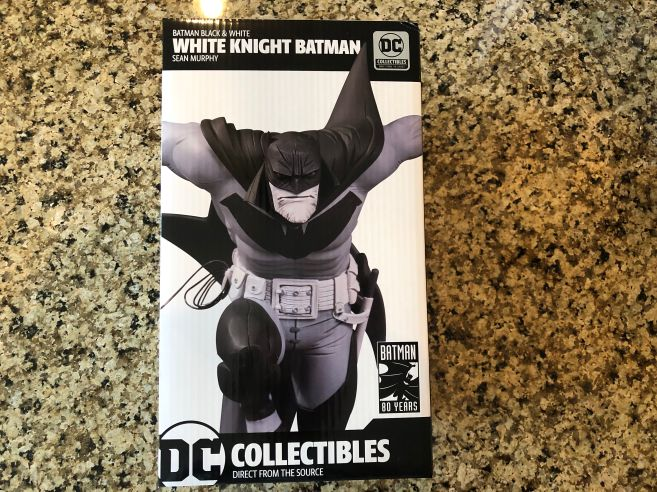 Sean Murphy White Knight Batman Black and White Statue 01
