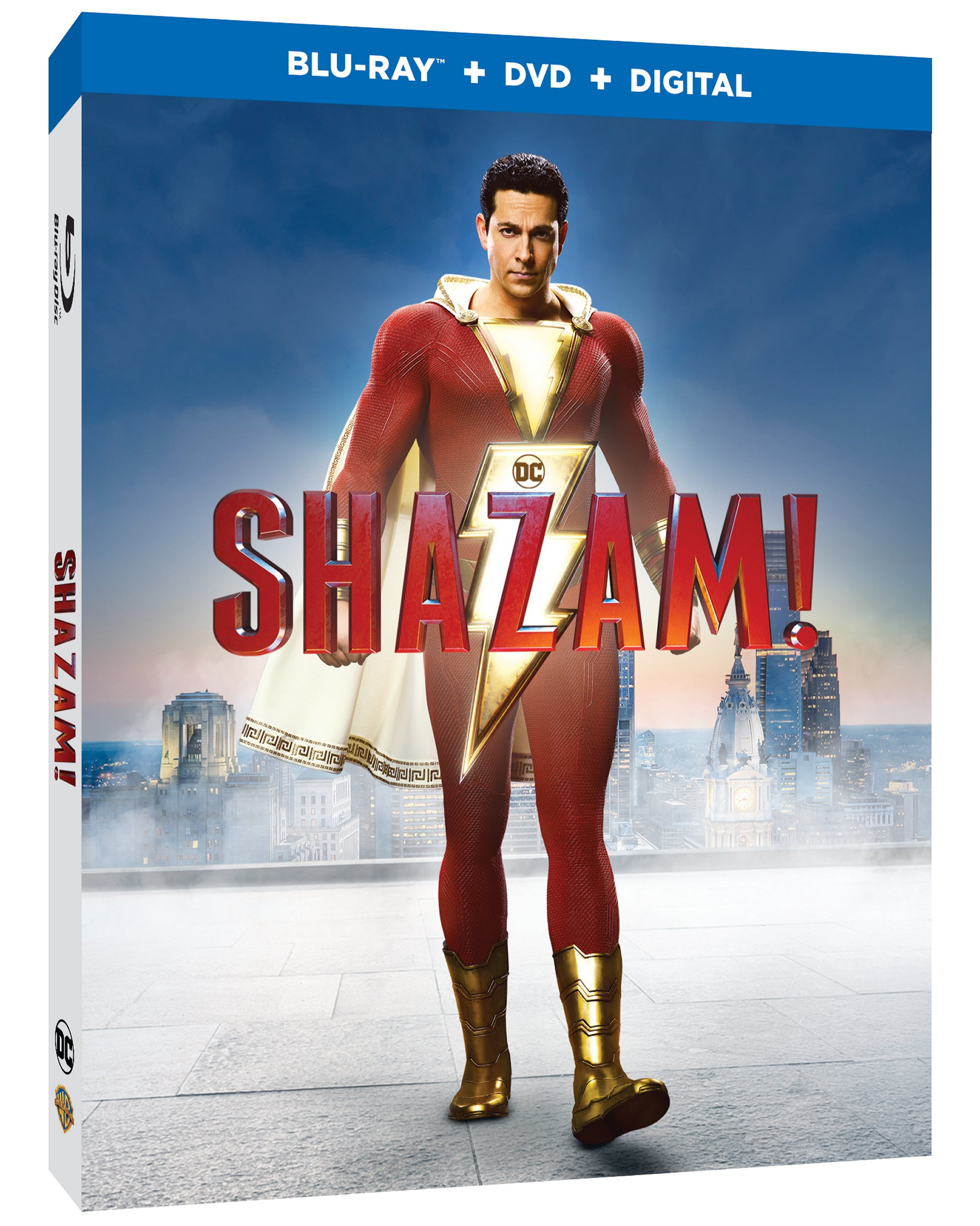 Shazam Blu-ray and digital release dates and details announced