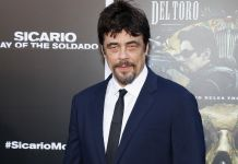 Shutterstock - Benicio del Toro - Tinsletown