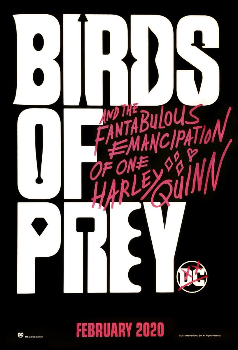 Birds Of Prey Gets Its First Promo Poster Batman News