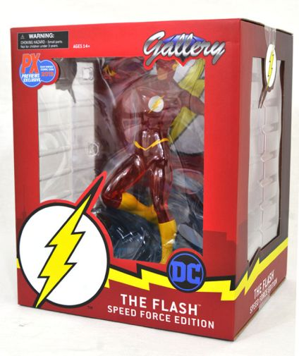 DST - SDCC Exclusives 2019 - DC Gallery - Speed Force Flash PVC Statue - 05