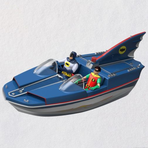 Hallmark - Keepsake Ornaments - 2019 - Batman Classic TV Series Batboat - 01