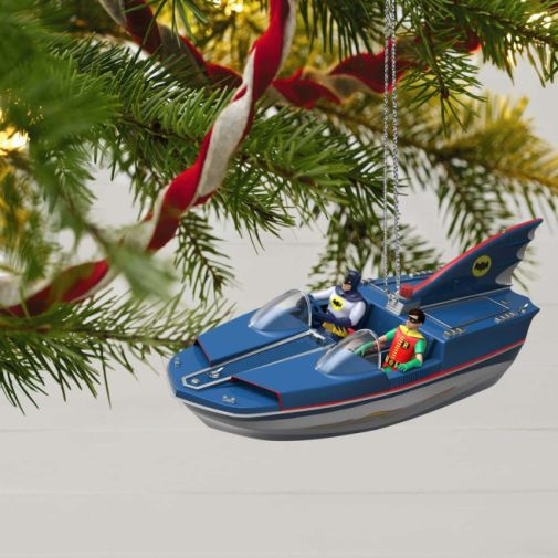 Hallmark - Keepsake Ornaments - 2019 - Batman Classic TV Series Batboat - 02