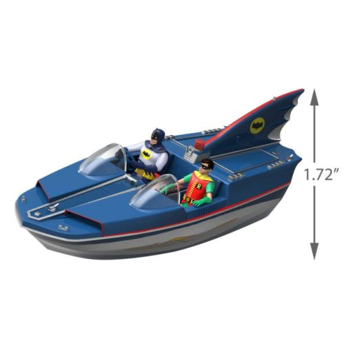 Hallmark - Keepsake Ornaments - 2019 - Batman Classic TV Series Batboat - 04