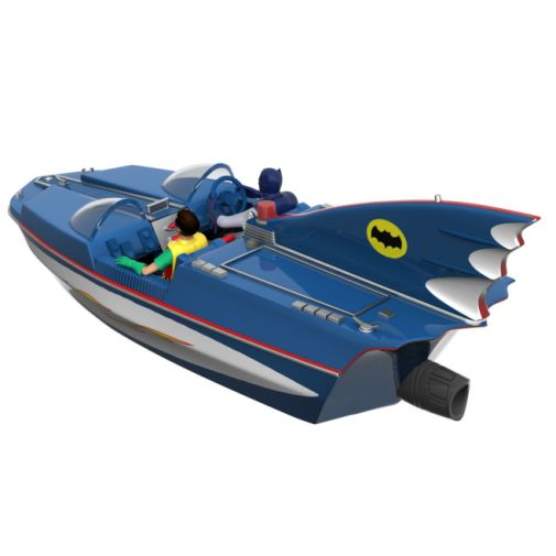 Hallmark - Keepsake Ornaments - 2019 - Batman Classic TV Series Batboat - 05