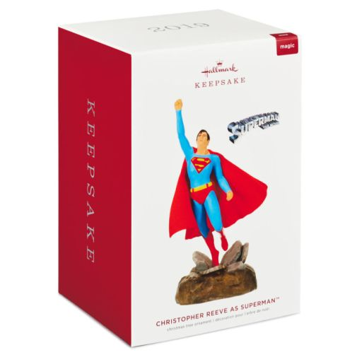 Hallmark - Keepsake Ornaments - 2019 - Christopher Reeve as Superman Musical Ornament - 03