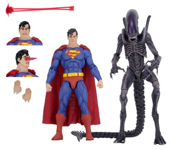 NECA - 2019 Convention Exclusives - Superman vs Alien 2-Pack - 01