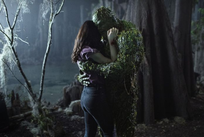 Swamp Thing begins to realize his powers in new episode photos