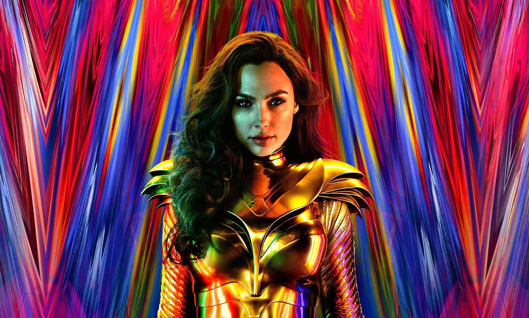 Wonder Woman 1984 Poster Shows Off Gal Gadot's New Gold Costume