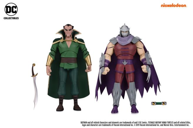 DC Collectibles - SDCC 2019 Exclusives - Batman vs TMNT - Ras al Ghul and Shredder - 01