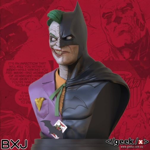 Geek X - Batman - BXJ Bust - 02