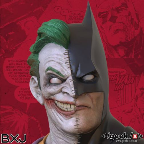 Geek X - Batman - BXJ Bust - 07