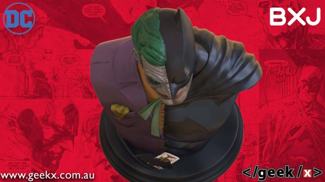 Geek X - Batman - BXJ Bust - 10