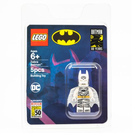 LEGO - SDCC 2019 Exclusives - Zebra Batman - 02