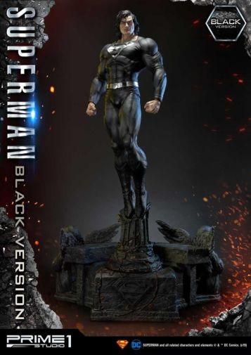 Prime 1 Studio - Superman - Black Version Superman - 06