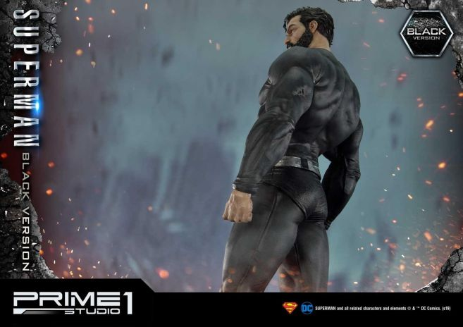 Prime 1 Studio - Superman - Black Version Superman - 41