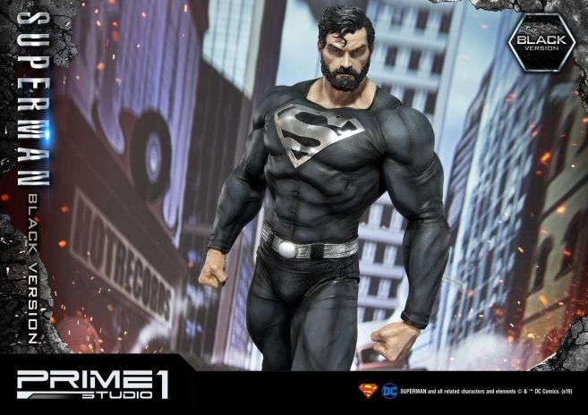 Prime 1 Studio - Superman - Black Version Superman - 44