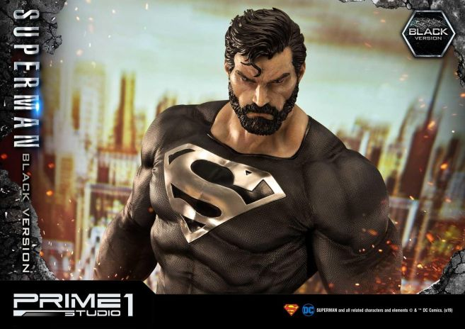 Prime 1 Studio - Superman - Black Version Superman - 47