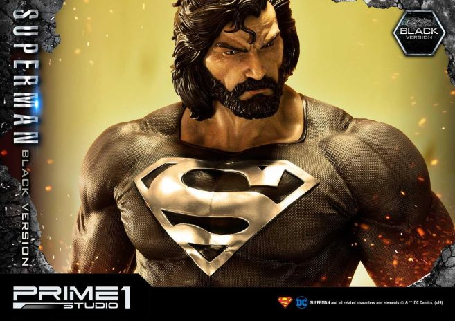 Prime 1 Studio - Superman - Black Version Superman - 48