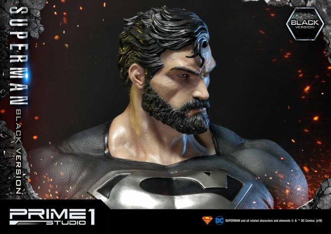 Prime 1 Studio - Superman - Black Version Superman - 52