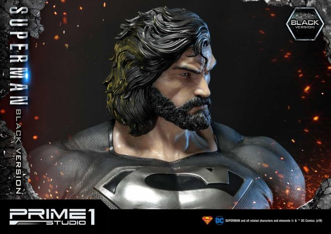 Prime 1 Studio - Superman - Black Version Superman - 54