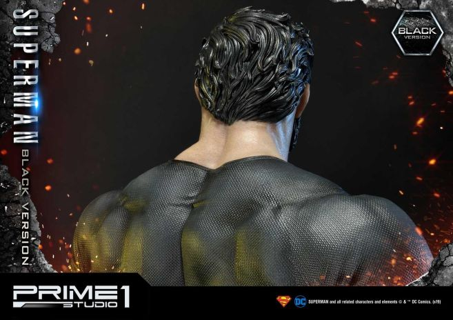 Prime 1 Studio - Superman - Black Version Superman - 56