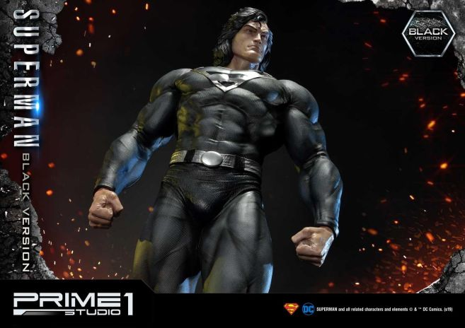 Prime 1 Studio - Superman - Black Version Superman - 61