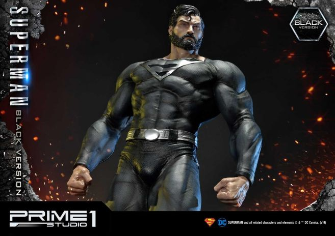 Prime 1 Studio - Superman - Black Version Superman - 62