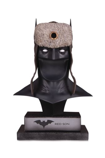 DC Collectibles - April 2020 - DC Gallery - Red Son Batman Cowl - 01