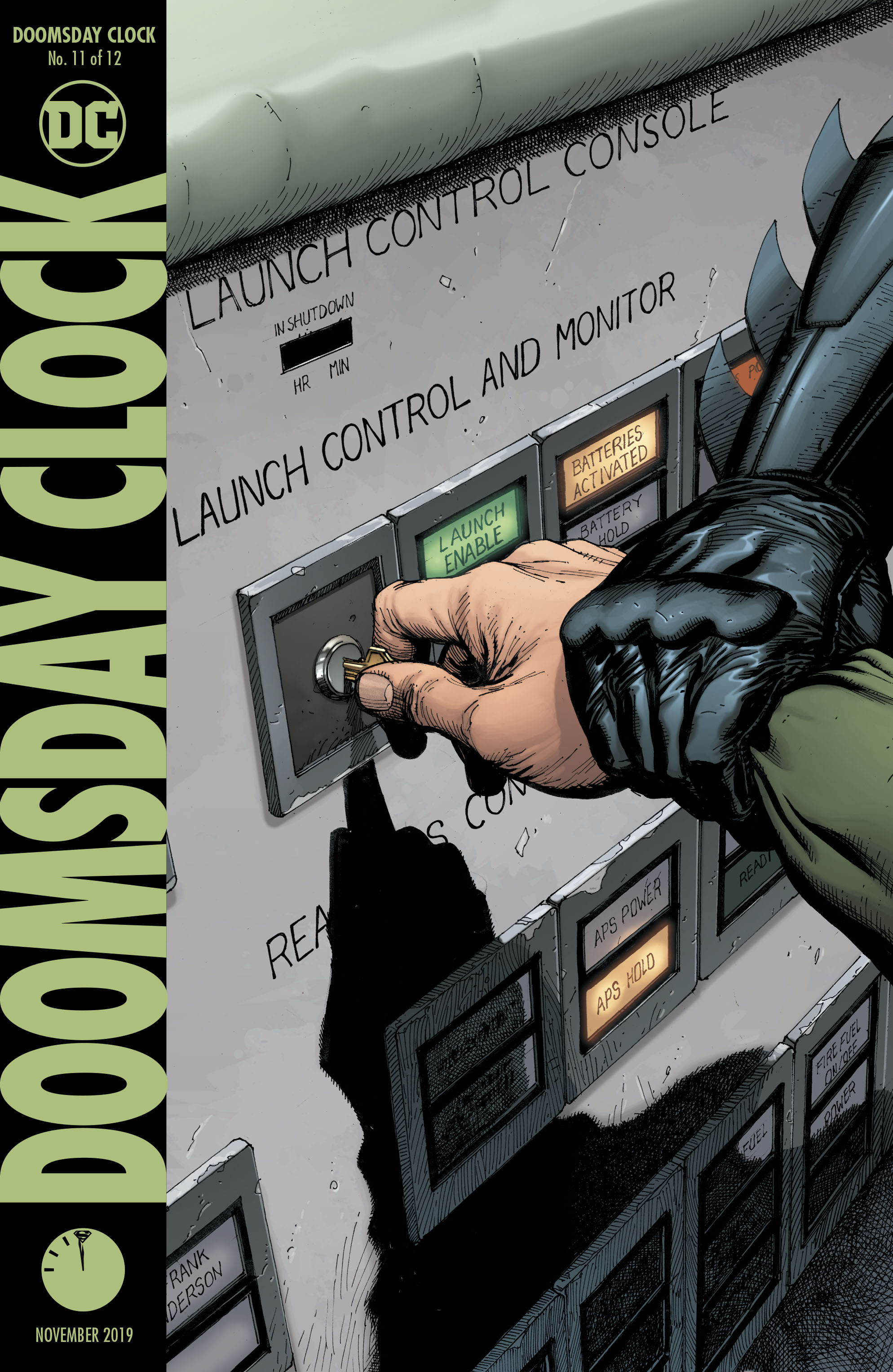 Doomsday Clock 11 Review Batman News