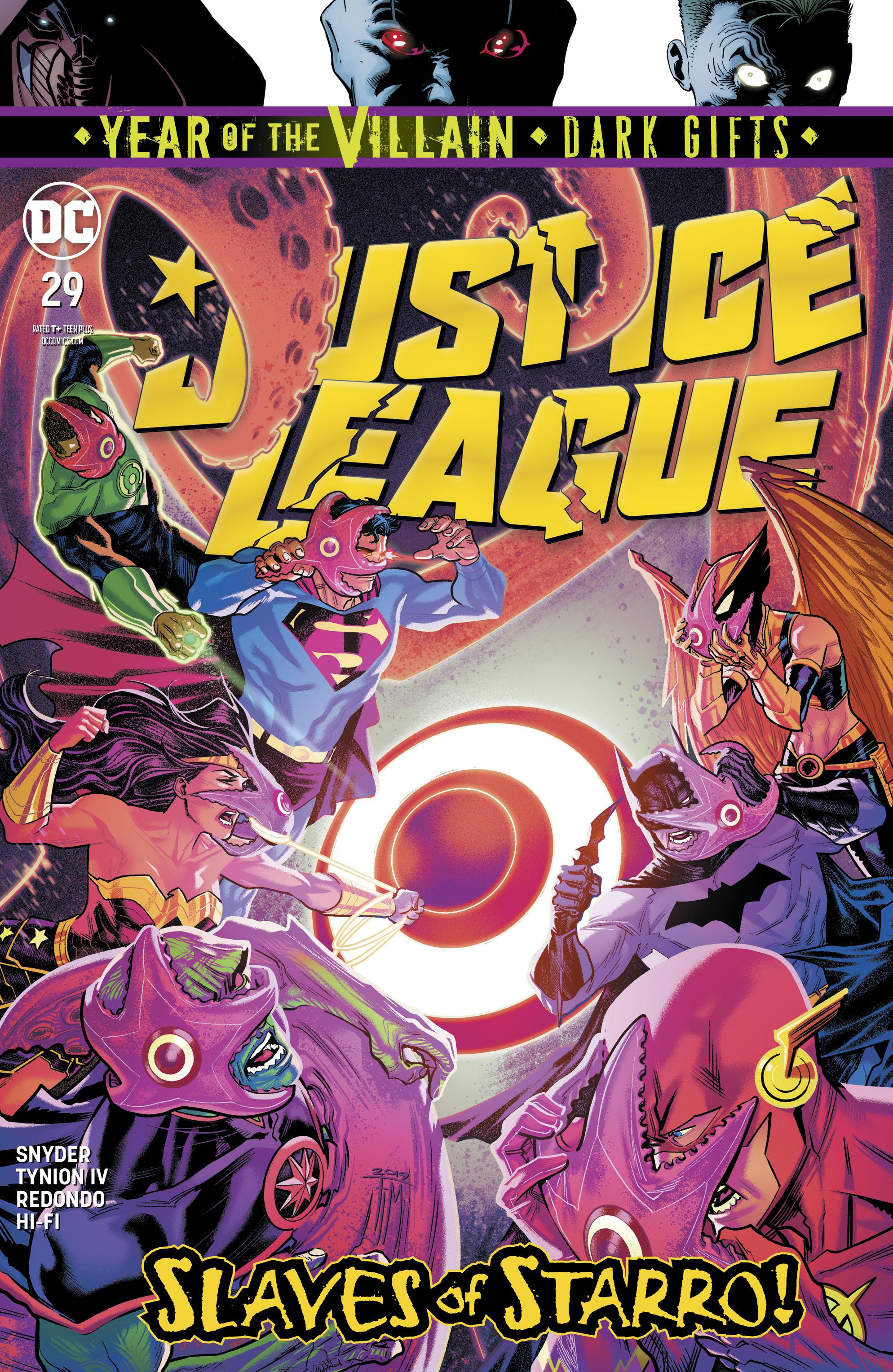 August 2019 JUSTICE LEAGUE 6 DC Comic