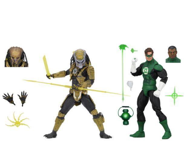 NECA - 2019 Convention Exclusives - Green Lantern vs Predator 2-Pack - 01