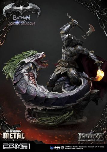 Prime 1 Studio - Batman - Dark Knights Metal - Batman vs Joker Dragon - 01