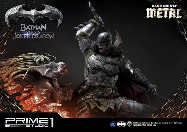 Prime 1 Studio - Batman - Dark Knights Metal - Batman vs Joker Dragon - 17