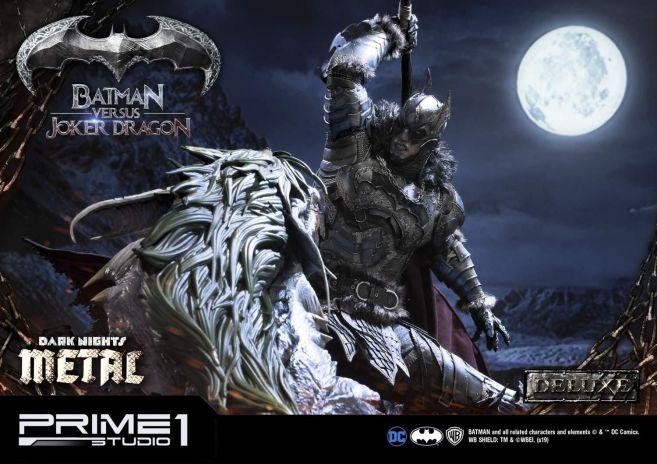 Prime 1 Studio - Batman - Dark Knights Metal - Batman vs Joker Dragon - 40