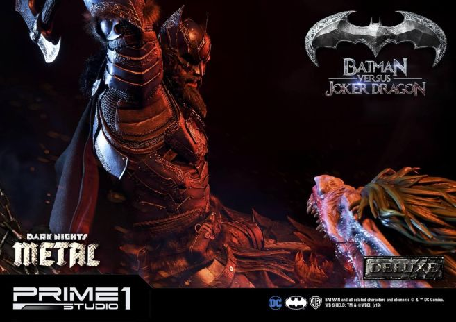 Prime 1 Studio - Batman - Dark Knights Metal - Batman vs Joker Dragon - 41