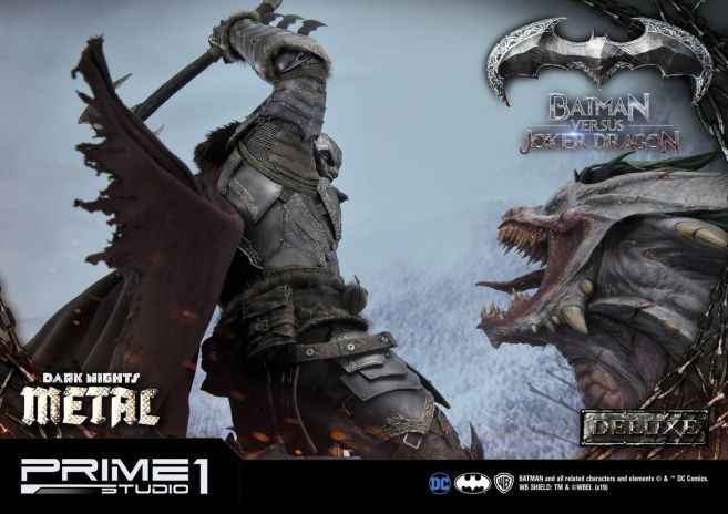 Prime 1 Studio - Batman - Dark Knights Metal - Batman vs Joker Dragon - 42