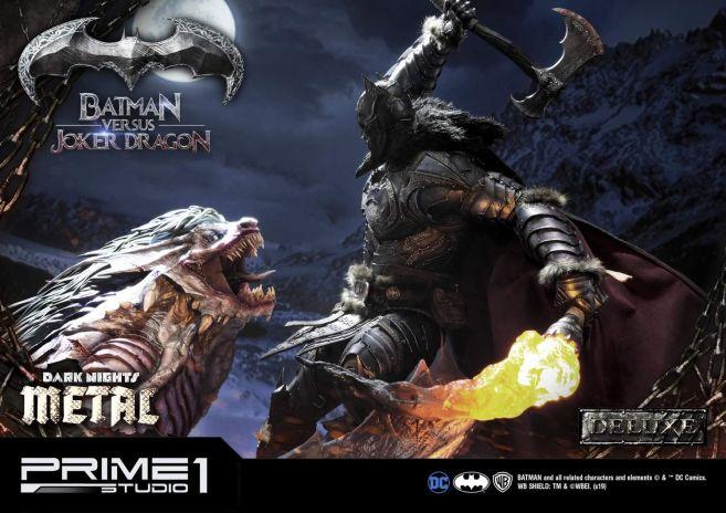 Prime 1 Studio - Batman - Dark Knights Metal - Batman vs Joker Dragon - 46