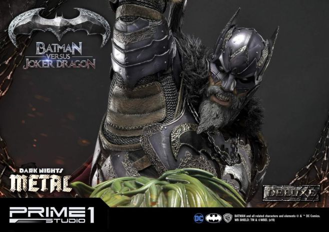 Prime 1 Studio - Batman - Dark Knights Metal - Batman vs Joker Dragon - 48