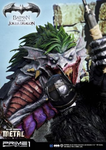 Prime 1 Studio - Batman - Dark Knights Metal - Batman vs Joker Dragon - 62