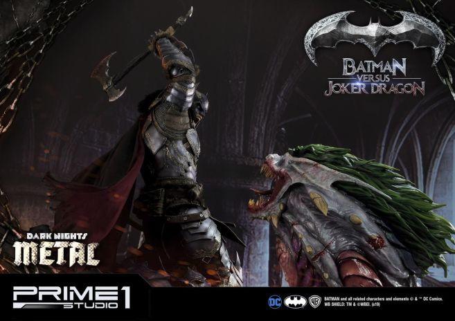 Prime 1 Studio - Batman - Dark Knights Metal - Batman vs Joker Dragon - 64